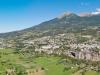 La ville d'Embrun est construite sur un roc et domine la Duranc
