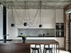 Loft style kitchen zone
