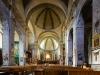 Nef de l'église Notre-Dame-et-Saint-Nicolas, Briançon, France