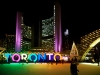 TORONTO  City Hall skating ring and its colorful lights are a popular winter attraction,