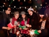 Posada Mexicana, Mexican friends Singing carols in Christmas in Mexico